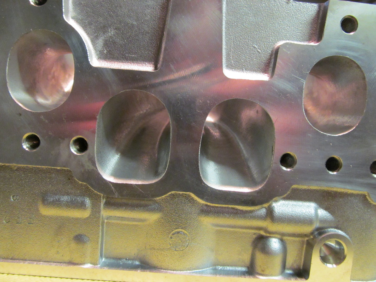 1 9 8v TDI PD Cylinder head CNC porting